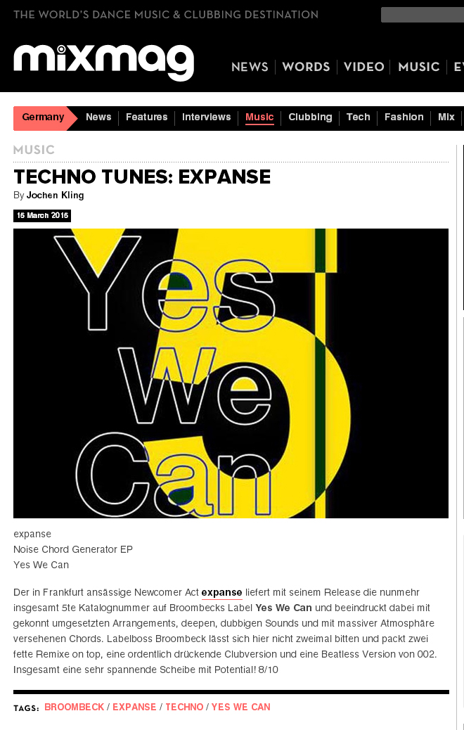BROOMBECK_EXPANSE-_TECHNO_YES-WE-CAN_MIXMAG