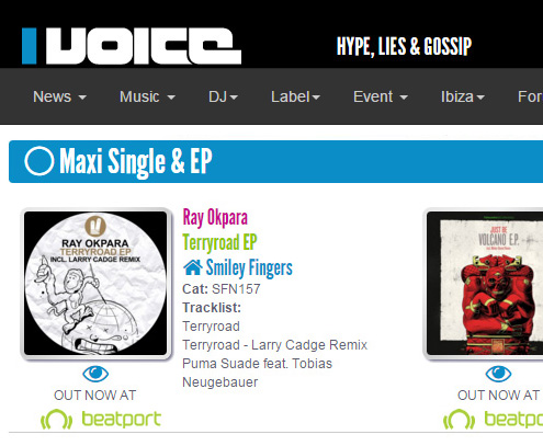 ray okpara terryroad smiley fingers feat Ibiza-voice.com